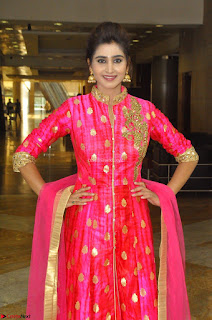Shamili in Pink Anarkali Dress 10.JPG