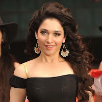 Tamanna in black dress