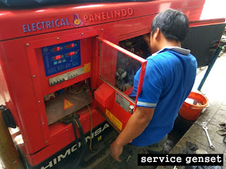 SERVICE GENSET AREA LEGOK TANGERANG