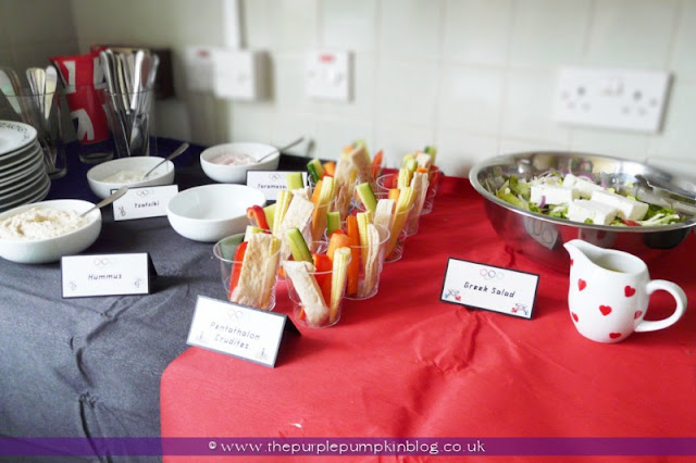 #Olympics Party Food at The Purple Pumpkin Blog