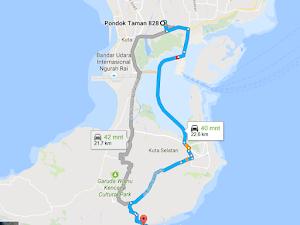 Liburan Ke Bali Pantai Pandawa Uluwatu Motoran Part 2