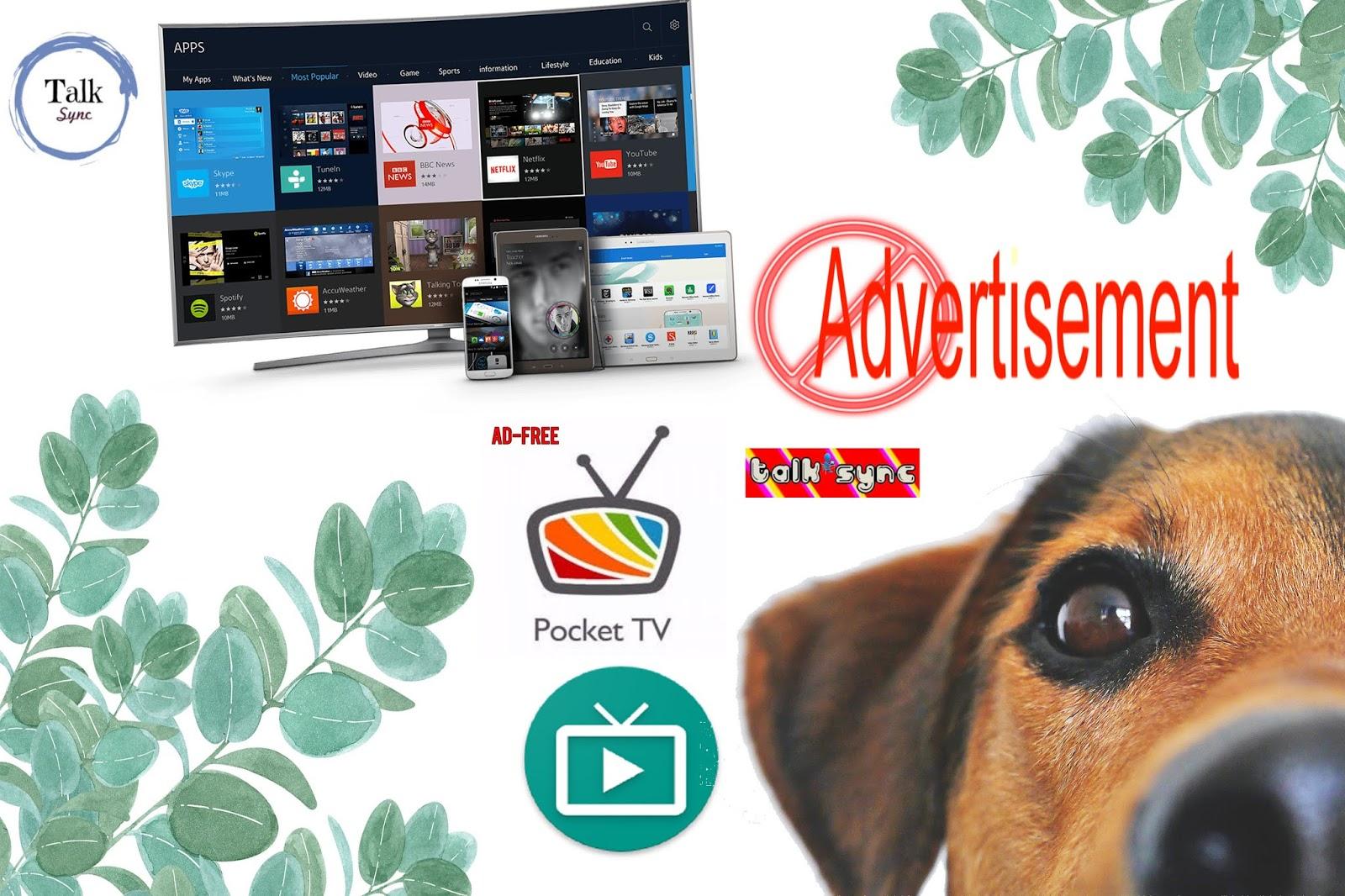 AD FREE LIVE TV APP - Talk Sync