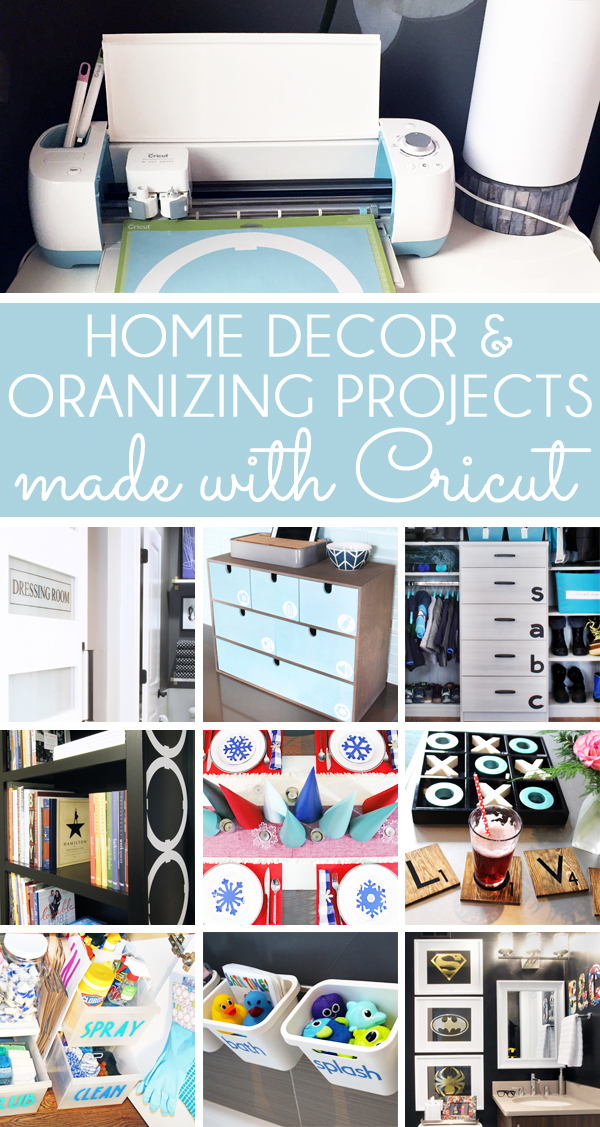 Good Cricut Home Decor And Cricut Organizing Project Ideas