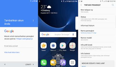 Bypas FRP Samsung S7 Edge G935FD Nougat 7.0 Tested