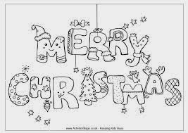 Cute Christmas Coloring Pages 3