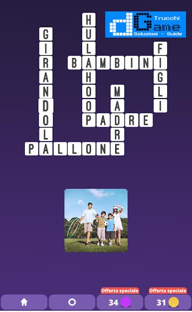 Soluzioni One Clue Crossword livello 20 schemi 12 (Cruciverba illustrato)  | Parole e foto