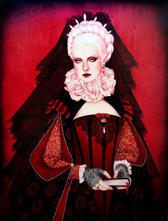 Современная художница. Sylvia Ji 11
