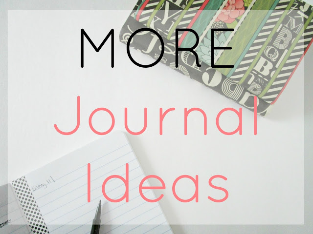 MORE Journal Ideas from Courtney's Little Things
