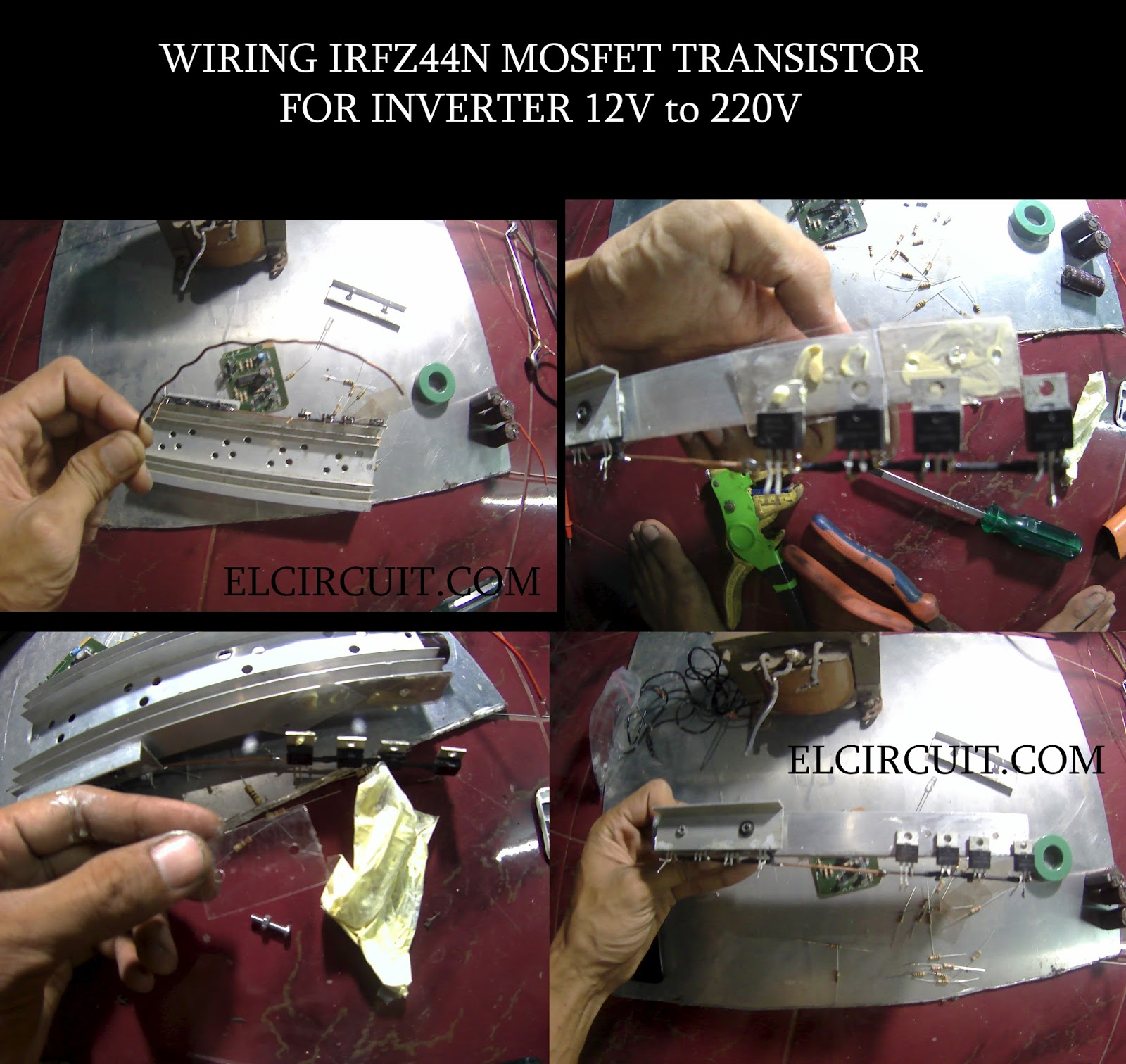 220v To 12v Transformer Wiring Diagram Ritetemp Thermostat Inverter Dc Ac Voltage Tl494