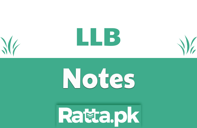 National Assembly of Pakistan - Constitutional law notes LLB