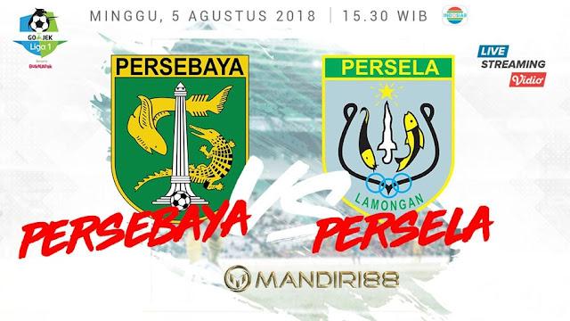 Prediksi Persebaya Surabaya Vs Persela Lamongan, Minggu 05 Agustus 2018 Pukul 15.30 WIB @ Indosiar