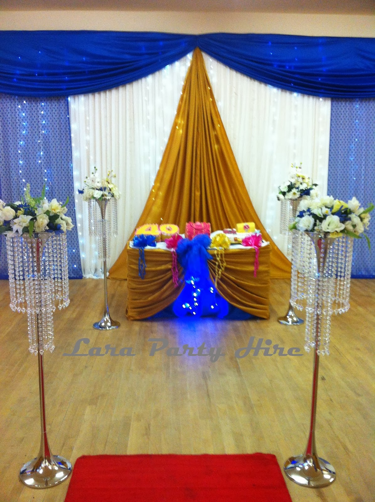 Chair Covers And Sashes For Sale Kitchen Design Lara Party Hire: Wedding Backdrop Curtain With Swag & Fairy Lights