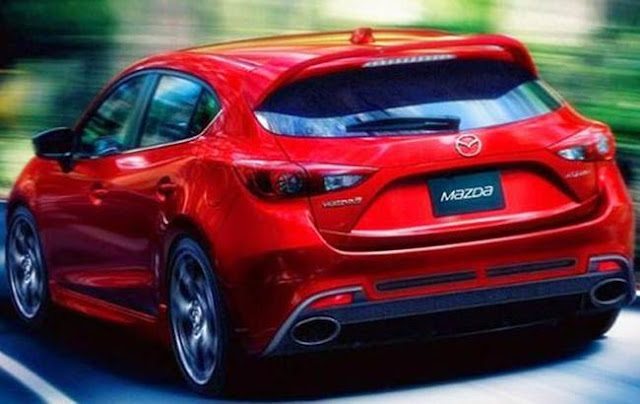 2017 Mazdaspeed 3 Redesign