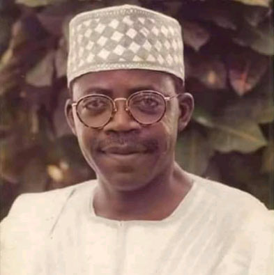 Picture of Bola Tinubu in his youthful days