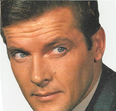 Roger Moore's Eyebrows