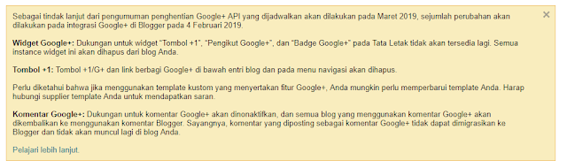 Google Plus Ditutup