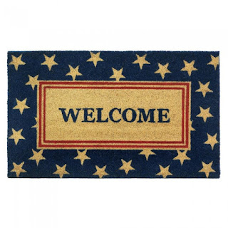 Patriotic Welcome Mat - GIftspiration