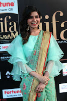Samantha Ruth Prabhu Smiling Beauty in strange Designer Saree at IIFA Utsavam Awards 2017  Day 2  Exclusive 17.JPG