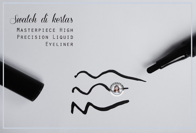 Masterpiece High Precision Liquid Eyeliner review