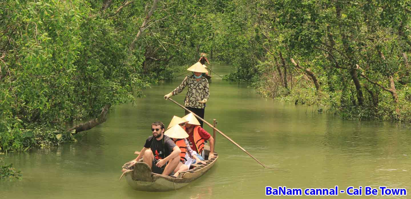 real-mekong-delta-tour-Banam-cannal-Cai-be-Town