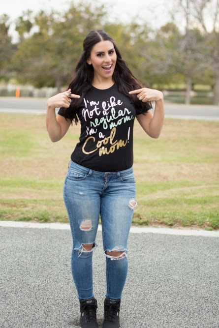 Cool Mom Tee by Finomenon Kids (click here to read more) 5b76319d87b6