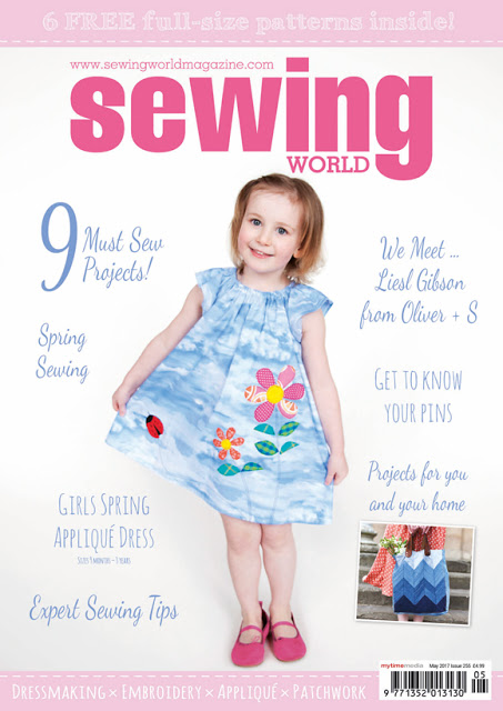 Sewing World Magazine May 2017