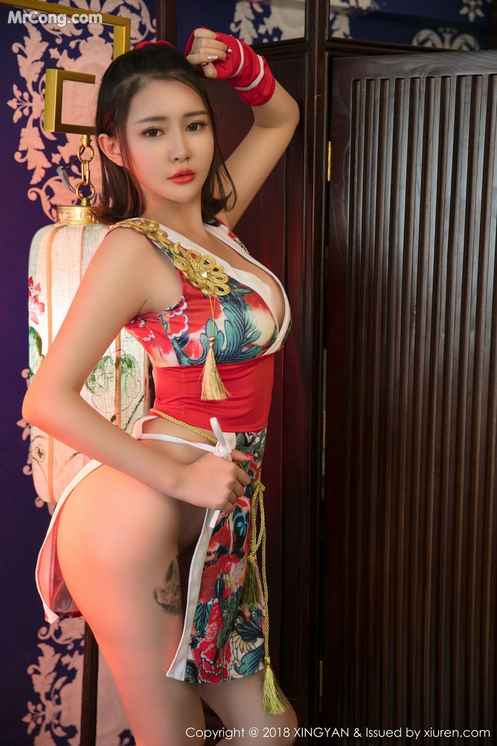 Image XingYan-Vol.028-MrCong.com-007 in post XingYan Vol.028: Người mẫu 廿十 (41 ảnh)