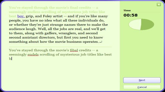 Typing Master screenshot 4