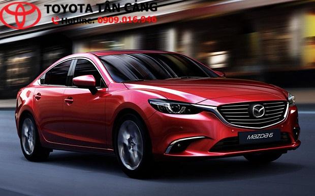 Mazda 6 sang trọng về tổng thể