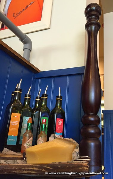 Never seen such a gigantic pepper mill! At Bella Italia