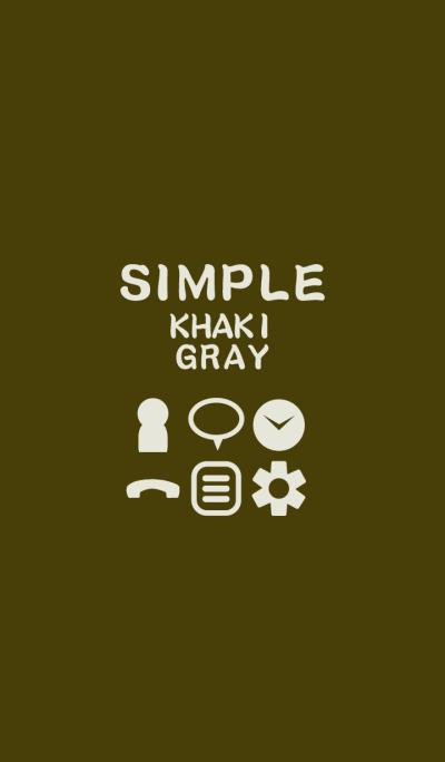 SIMPLE khaki*gray*
