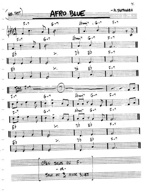 Partitura Flauta Santamaria