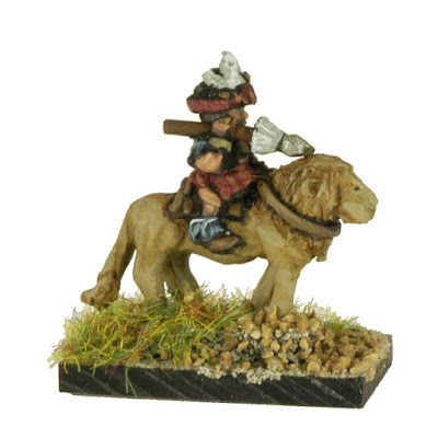 FTW403 Tribal Heavy Cavalry riding Lions