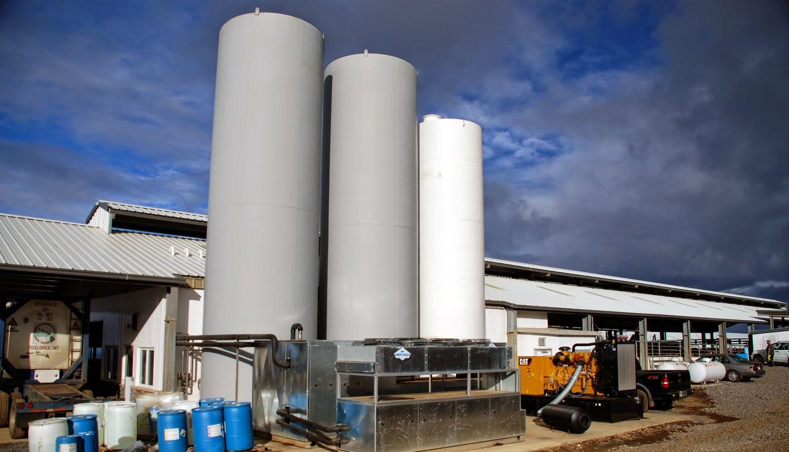 Vance Dairy Construction November 2014