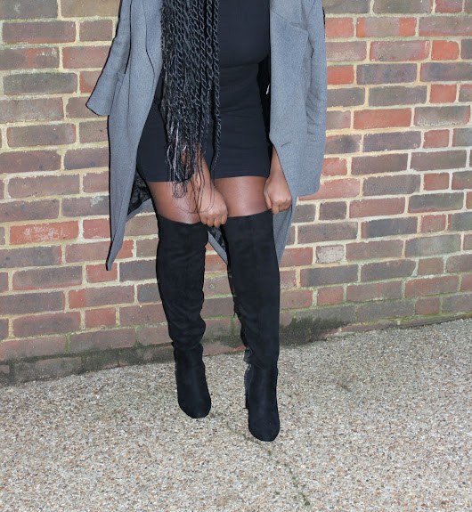 How To Style Knee High Boots 2 Ways ♥