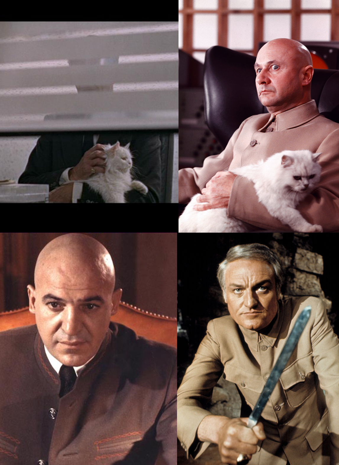 A Shroud of Thoughts: You Only Live Many Times: James Bond's Archenemy--Ernst  Stavro Blofeld