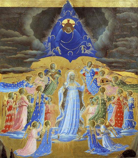Assunção, Fra Angelico  (1395 – 1455), Google Cultural Institute.