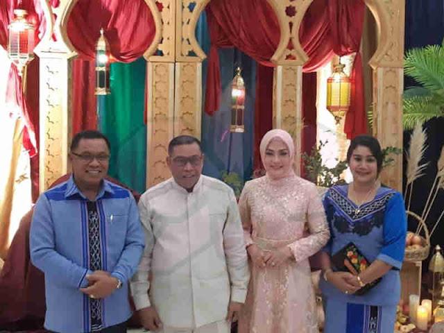 Petrus Fatlolon Silaturahmi Idul Fitri ke Murad Ismail