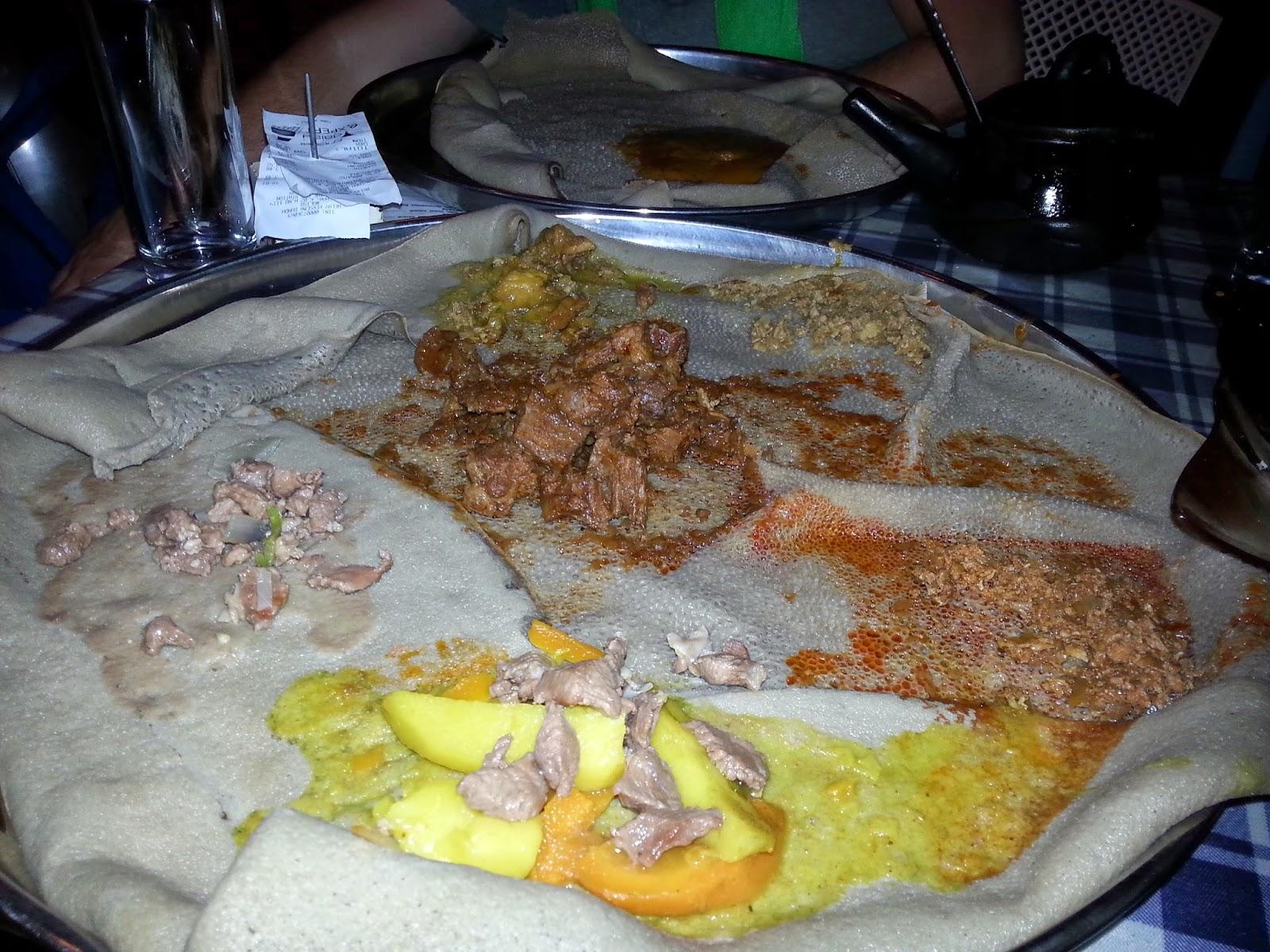 ashleysayque: Ethiopian food