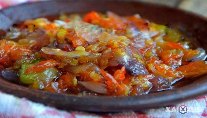 Resep cara membuat sambal bawang tomat