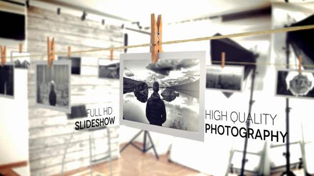 مشروع برومو رائع لعرض الصور باحترافية للافتر افكت CC فأعلى