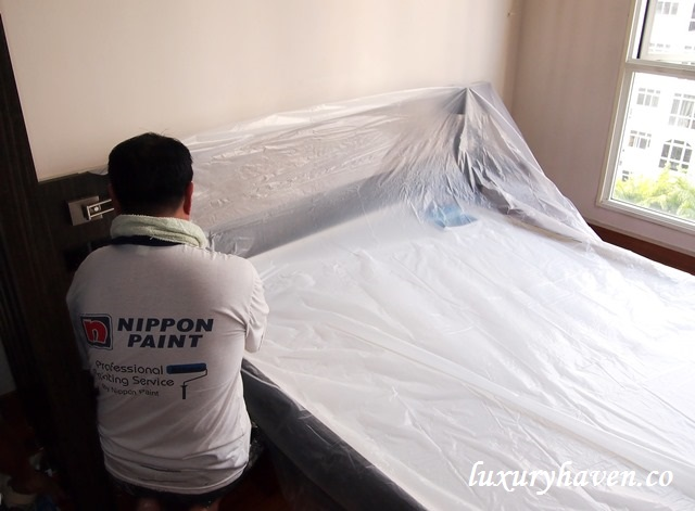 nippon paint professional services master bedroom