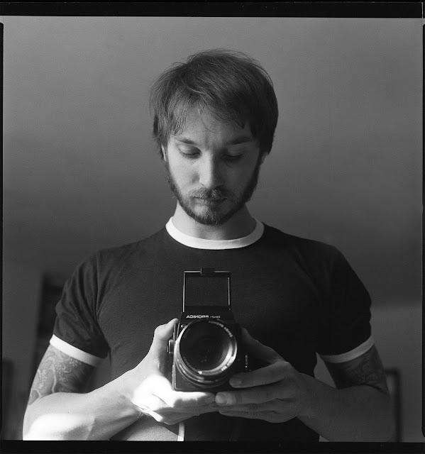 Bronica SQ selfie Medium format camera