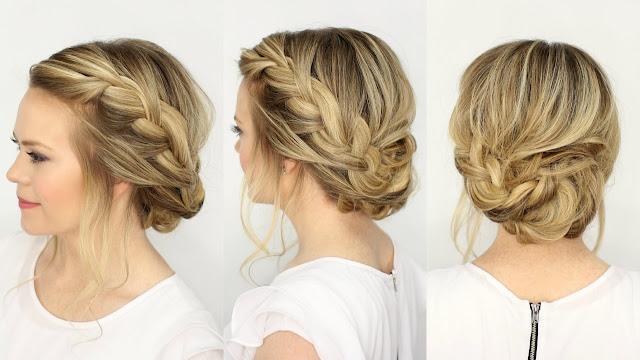 ideias penteados com tranças incríveis