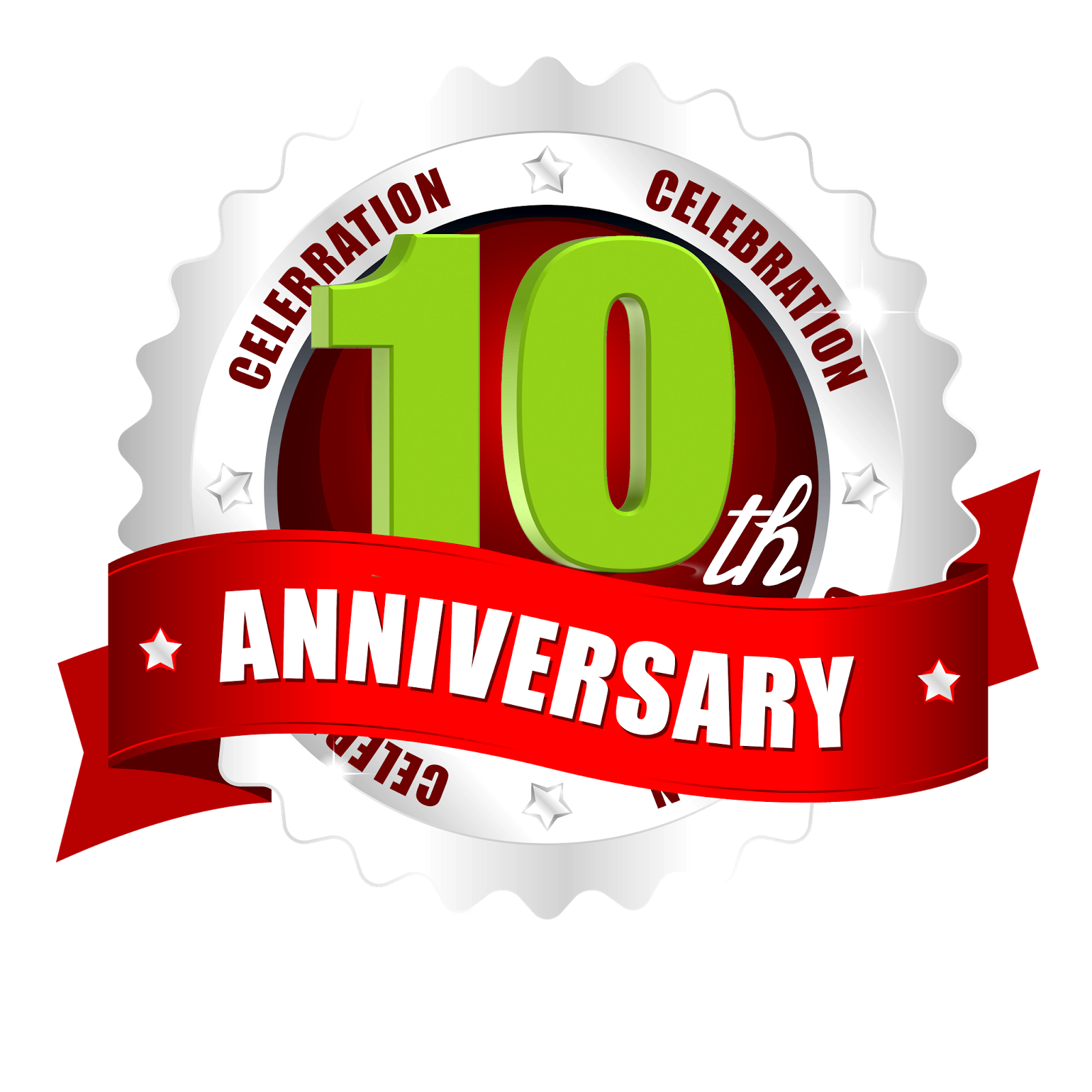 10th Anniversary Logo Images Real Clipart And Vector Graphics