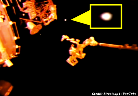 UFOs Spotted On Nasa's HD ISS Live Stream ... Again