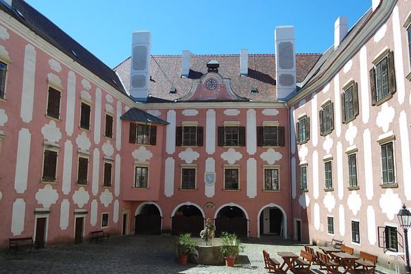 basse autriche waldviertel drosendorf village fortifié château
