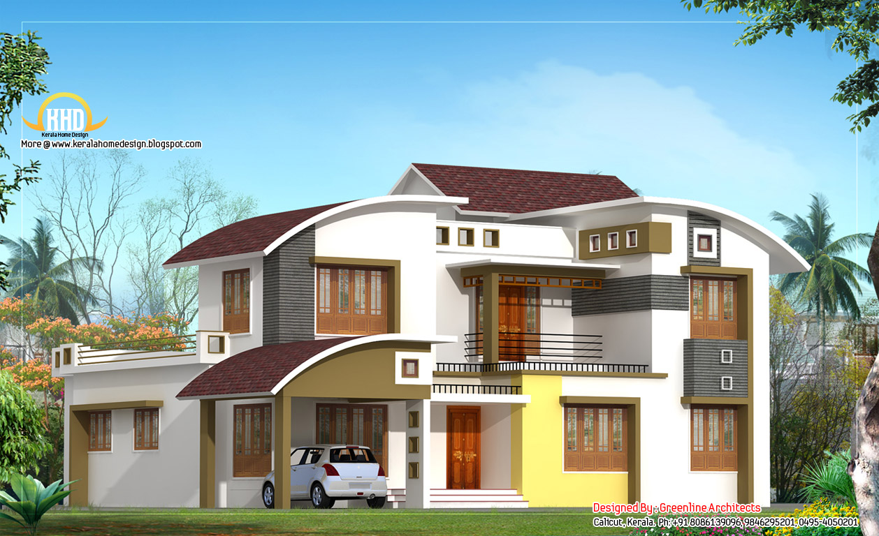 Modern Contemporary Home Design 2850 Sq Ft Home