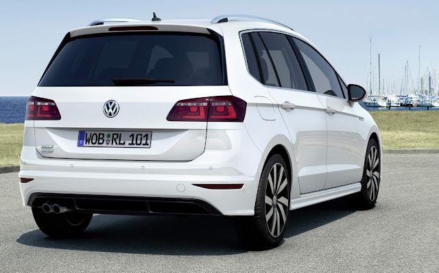 VW Golf Sportsvan R-Line 2016