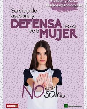 CCOO reactiva su Servicio de Defensa Legal gratuito para las mujeres en caso de discriminación laboral por razón de sexo